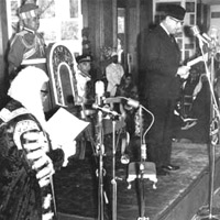 Field Marshal Ayub Khan Becomes President