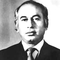 Ouster of Zulfiqar Ali Bhutto