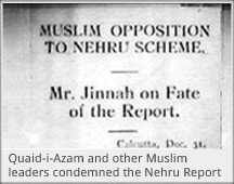 nehru report Nehru report was basically the demands of the indian people which were put  forward in opposition to the simon commission in may of 1928,.