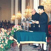 Oath Prime Minister